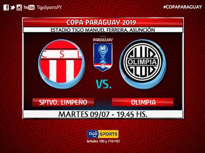 Olimpia y Sportivo Limpeño debutan en la Copa Paraguay