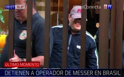 Cae operador de Darío Messer