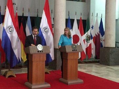 Cumbre del Mercosur será vital para acuerdo con Brasil, dice Liz Cramer