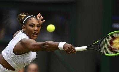Serena avanza con autoridad a semifinales de Wimbledon