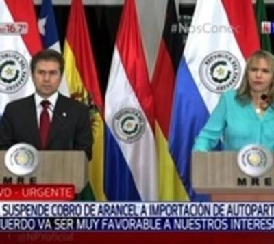 Autopartes: Envían nuevo borrador a Brasil para negociar acuerdo