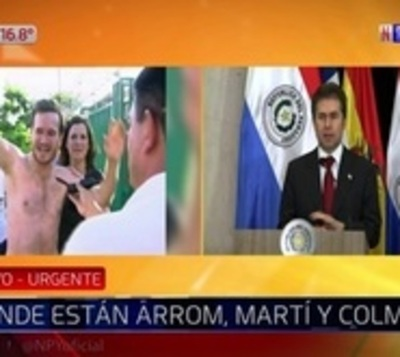 ¿Se fugaron?: Incertidumbre sobre paradero de Arrom, Martí y Colmán