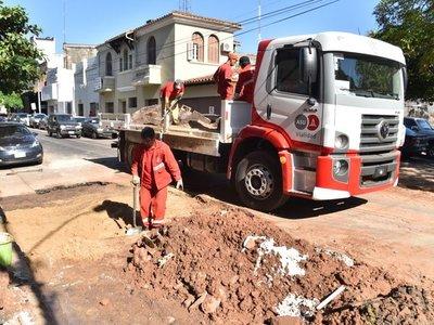 Sumario a funcionarios municipales por obras en vereda de un negocio