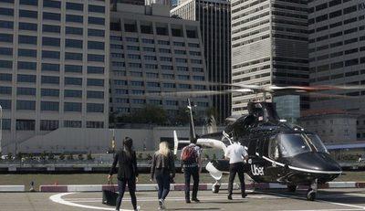 Viajes en helicópteros Uber ya son una realidad