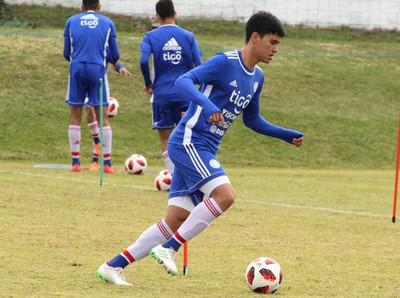Sub 17 se prepara para amistosos contra Brasil