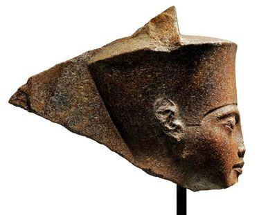 Egipto busca busto de Tutankamón