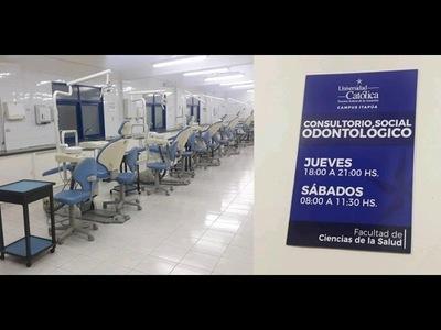 HABILITAN CONSULTORIO SOCIAL ODONTOLÓGICO EN LA UCI