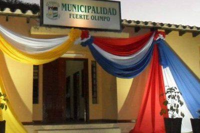 Fiscalía allana la Municipalidad de Fuerte Olimpo