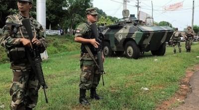 """Sitiaron distrito en San Pedro en 20 minutos, ¿y la FTC?: """"Es solo por pedido"""", dice vocero militar"""