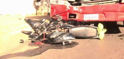 Fatal accidente en cruce de Fernando de la Mora