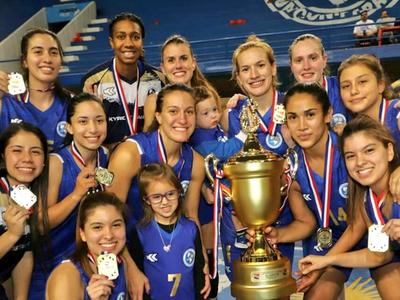 Sol de América es tetracampeón del baloncesto femenino
