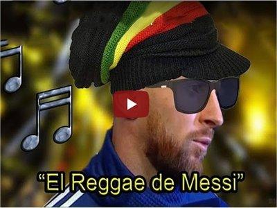 """El """"reggae de Messi"""" la música que es furor en las redes"""
