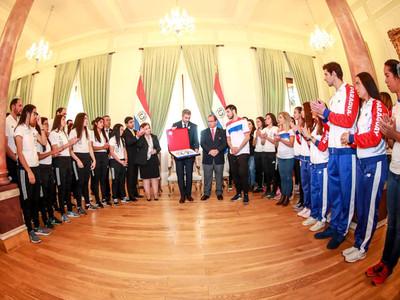 Paraguay presenta su delegación para los Juegos Panamericanos