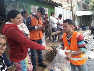 Descenso del río permitió que más de 600 familias regresen a sus hogares