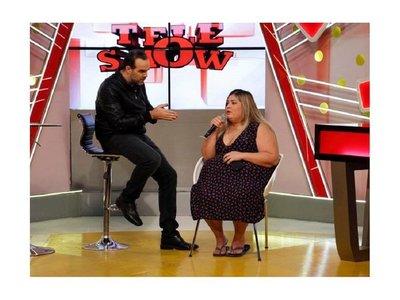 Pamelita Ovelar subió 15 kilos en un mes