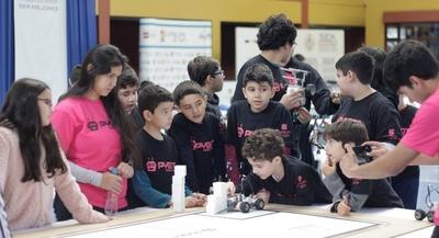 Gran final del Torneo Nacional de Robótica PYBOT 2019