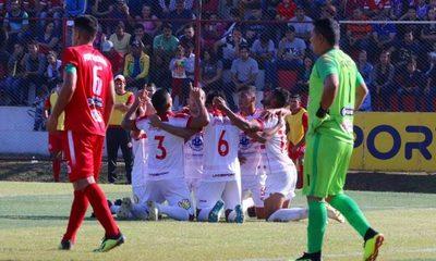 General Caballero golea para seguir en la Copa Paraguay