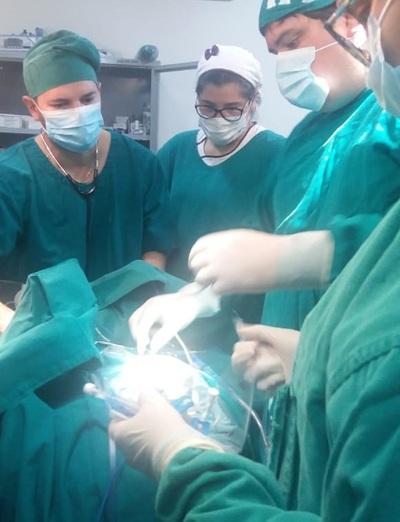 Inédita cirugía neurológica en el Hospital Regional de Coronel Oviedo