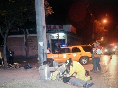 Motociclista murió luego de ser atropellado por un auto