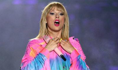Taylor Swift es la artista mejor pagada según FORBES