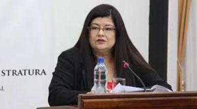 Carolina Llanes gano la confianza del Congreso y es nueva ministra de Corte