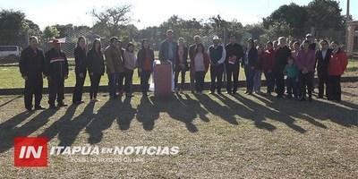 INAUGURAN OBRAS EN EL BARRIO MARÍA AUXILIADORA DE LA PAZ