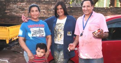 Familia de chapista que se destaca por su dedicación