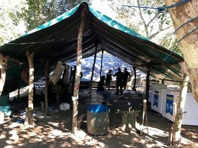 Desarticulan campamentos narcos con más de 12 toneladas de marihuana en Capitán Bado