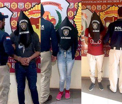 Capturan a otras tres personas ligadas a asalto en cancha de vóley en Franco