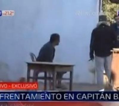 Detienen a jefe de grupo criminal tras enfrentamiento en Capitán Bado