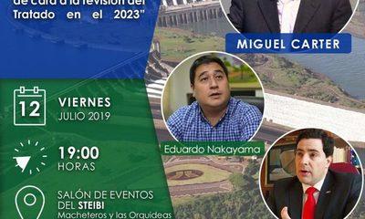 """Realizarán Conferencia """"Itaipu causa nacional. La riqueza energética perdida del Paraguay, de cara a la revisión del Tratado en el 2023"""""""