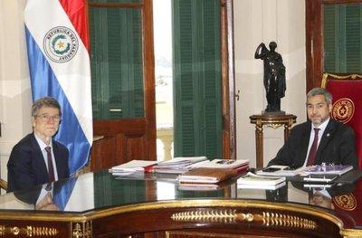 Jeffrey Sachs en reunión de Ministros con Mario Abdo