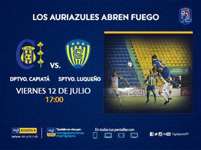 Capiatá y Luqueño inauguran el Clausura 2019