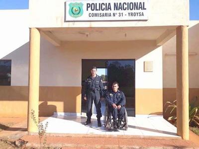 """POLICÍA EJEMPLAR: """"LO QUE ME PASÓ NO ME DETENDRÁ PARA AYUDAR A LA GENTE"""""""