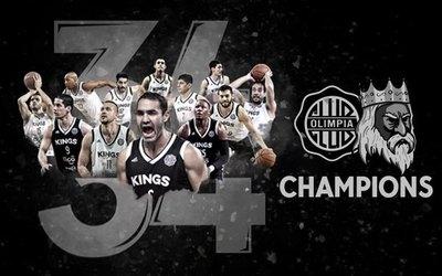 Olimpia Kings logró el título 34 de basquetbol