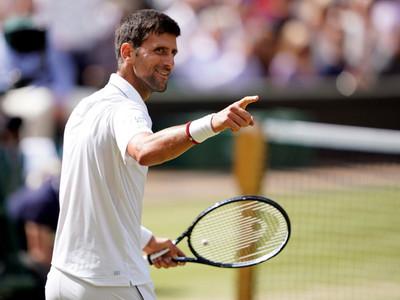 Djokovic es el primer finalista de Wimbledon