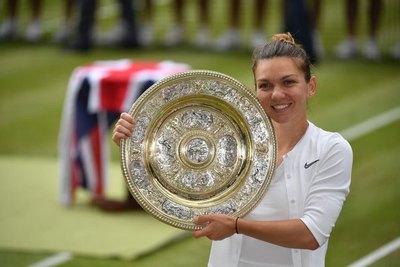 Simona Halep, campeona de Wimbledon