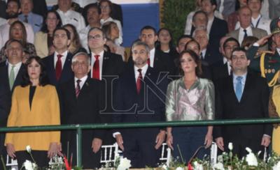 HOY / Inauguran la Expo y exigen a Mario Abdo seguridad, lucha contra el crimen organizado y garantías para la producción