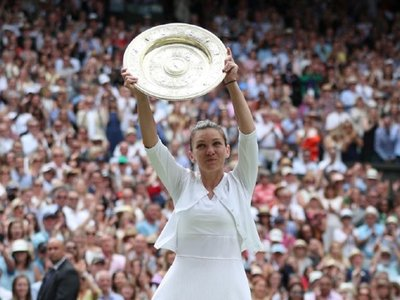 Halep conquista   Wimbledon