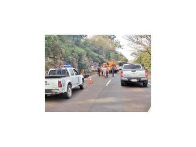 Motociclista fallece en accidente rutero