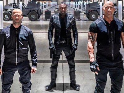 The Rock, Statham y Elba, un trío letal en el estreno de Rápido y Furioso
