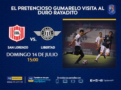 Debut en el Clausura para San Lorenzo y Libertad