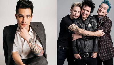 Brendon Urie de Panic! At The Disco reveló que le encantaría colaborar con Green Day