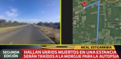 HOY / Asesinan a miembros de una familia en estancia del Chaco: trasfondo sería robo de ganado