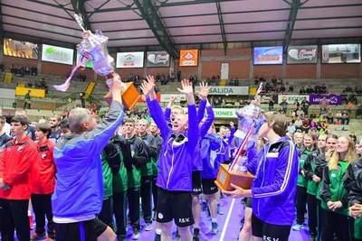 Fernheim se consagró campeón del Intercolonial de Vóley 2019