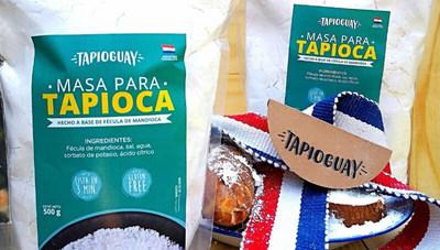 Masa para tapioca producida por Tapioguay (un producto 100% nacional)