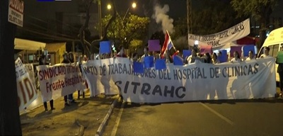 Hospital de Clínicas va a huelga desde este lunes