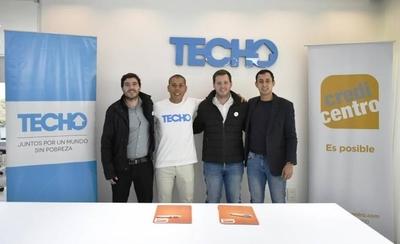 HOY / Credicentro y TECHO en alianza para brindar apoyo a familias en situación de pobreza