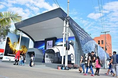 Conacyt gasta más de G. 1.300 millones en su stand de la Expo