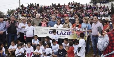 """EL PROGRAMA """"GOLAZO"""" SE DESARROLLÓ EN SAN PEDRO DEL PNÁ"""